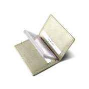 Lucrin - Slim Credit Cards Holder - Off-White - Granulated Leather