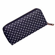 Bescita Women Stars Pattern Zipper Coin Purse Long Wallet Card Holders Handbag