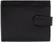 Mens 100% Multi-Coloured Soft Leather Bi-Fold Wallet / Money / Coin Holder