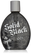 Millenium Tanning New Solid Black Bronzer Tanning Bed Lotion, 100x, 400ml w/ 5 FREE pairs of application gloves