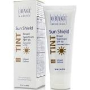 Sun shield warm tint sunscreen