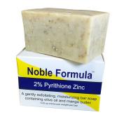 Noble Formula 2% Pyrithione Zinc (ZnP) Vegan Mango Bar Soap, 100ml