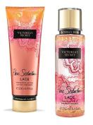 Victoria Secret Pure Seduction Lace Fragrance Mist and Lotion Bundle