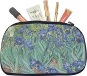 Irises (Van Gogh) Makeup Bag - Medium