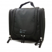 Mister Bag Hanging Toiletry Bag Travel Organiser BathtoomToiletries Bag Water Resistant with Mesh Pockets - for Bathroom Accessories Dopp / Shaving Kit, Liquids | TSA Compliant