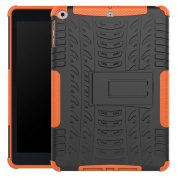 New iPad 2017 iPad 25cm Case,Kickstand Shockproof Case,Sunfei Rubber Hybrid Hard Case Cover Stand Holder for Apple New iPad 25cm