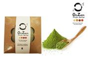 Onzen Konjac Sponge All Natural Japanese Facial Sponge with Green Tea