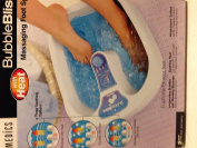 Homedics Bubble Bliss Massaging Foot Spa With Heat
