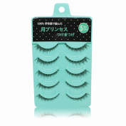 5 Pairs Natural Short Sparse Cross False Eyelashes Fake Eye Lashes Extension Makeup Tools
