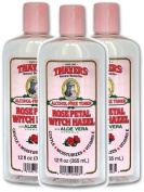 Thayers Alcohol-free Rose Petal Witch Hazel Toner (3 Pack) 350ml Bottles by THAYER,HENRY