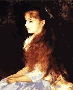 Prime Leader Wooden Framed Diy Oil Painting, Paint by Number Kit 41cm x 50cm Little Irene