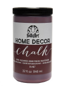 FOLKART Chalk Finish Paint, 950ml, Tuscan Red