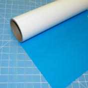 ThermoFlex Plus Columbia Blue 38cm x 0.9m Iron on Heat Transfer Vinyl by Coaches World