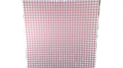 Pink Plaid Cheque Prints 12x12 Scrapbook Paper - 4 Sheets