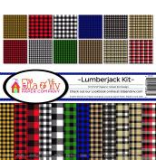 Ella & Viv by Reminisce Lumberjack Scrapbook Collection Kit