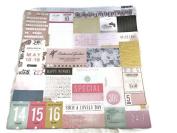Special Day Calendar Planner 12x12 Scrapbook Craft Paper - 4 Sheets