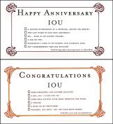 Quiplip Iou Birthdays (6 Cards) Greeting