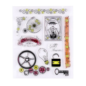 Vintage Film Elements Transparent Clear Silicone Stamp/seal for DIY Scrapbooking/photo Album Decorative Clear Stamp Sheets
