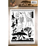 Amy Design Wild Animals Clear Stamps ADCS10017