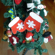 Bazaar A Pair Christmas Tree Gloves Ornament Hanging Pendant Xmas Candy Snacks Gift Bag Pouch