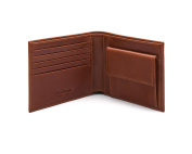 SAGEBROWN Classic Wallet With Coin Purse