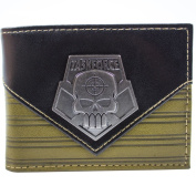 Suicide Squad Deadshot Task Force Brown ID & Card Bi-Fold Wallet