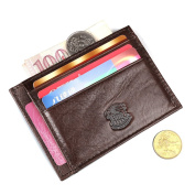 Ruil Casual Genuine leather Money Clips Wallet Q002S