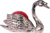 Wentworth Pewter - Swan Pewter Pincushion - 55mm x 40mm x 25mm