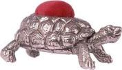 Wentworth Pewter - Tortoise Pewter Pincushion - 45mm x 30mm x 20mm