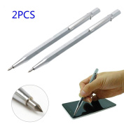 Be Magnet 2PCS Tungsten Carbide Tip Scriber Etching Pen Carve Engraver with Magnet
