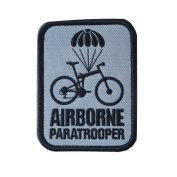 Toonol Foreign sources of airborne paratrooper AIRBORNE patch bagde armband Pack sticker Colour White