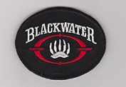 Blackwater Private Military Corp Security CIA Cofer Skull Patch Hook Fastener