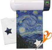 The Starry Night (Van Gogh 1889) Iron On Vinyl Sheet