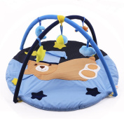 Rainbow Fox baby activity play blanket gym mat ,kids musi toys ,monkey forest tree style