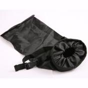 Black Auto Seat Back Litter Bag Trash Keeper
