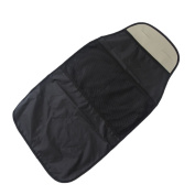 Backrest protector Car with 2 storage grilles Bag Car seat cover Waterproof