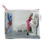 Extragifts Jellycat Purse - Blonde and Pink