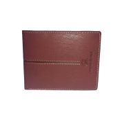 Men's wallet ANTONIO BASILE Red leather with flap 8806-psb24