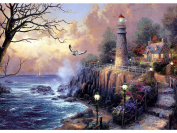 Blxecky 5D DIY Diamond Painting ,By Number Kits Crafts & Sewing Cross Stitch,Wall stickers for living room decoration,lighthouse