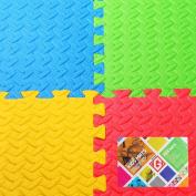 ***SALE*** Gallant Kids Play Mats EVA Interlocking Tiles 4 (1.5sqm) Indoor Outdoor Reversible Children's Playmats Eva Soft Floor Gym Mats With Edges***