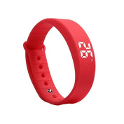 Latest Children Kids Adults Fitbit Style Activity Tracker Pedometer Step Counter Sports Watch