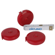 Dicuno 150cm 1.5 Metre Soft and Retractable Tape Body Tailor Sewing Craft Cloth Dieting Measuring Tape