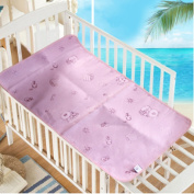 Baby Summer Sleeping Mat Breathable Safe Cool Bamboo Silk Flat Mattress Pads Toddler Infant Folding Bedding Cushion Crib Cot Cosy Nap Pads