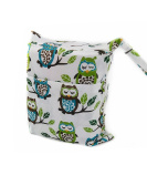 1 PC Waterproof Washable Baby Cloth Nappy Wet Bag