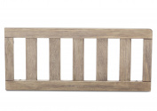 Serta Toddler Guardrail #705725, Rustic Whitewash