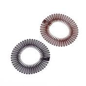 Sport Plastic Stretch Hair Band Full Circle Flexible Comb Teeth Headband Clip