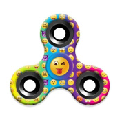 XILALU Lovely Emoji Fidget Spinner Triangle Single Finger Decompression Gyro Stress Reducer, Perfect For ADD, ADHD, Anxiety, and Autism Adult Children