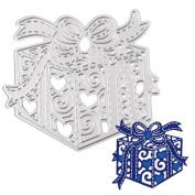 Kingfansion Metal Cutting Dies Stencil DIY Scrapbooking Embossing Album Paper Card Craft