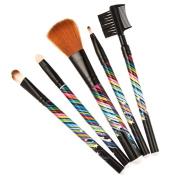 Meritina Wood 5pcs Makeup Cosmetic Brush Set