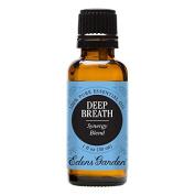 Deep Breath Synergy Blend Essential Oil by Edens Garden - 30 ml